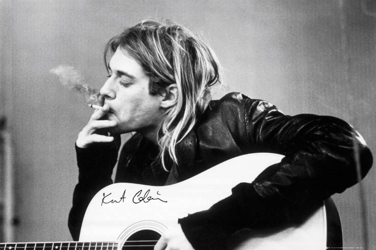 cobain smoking - Copy