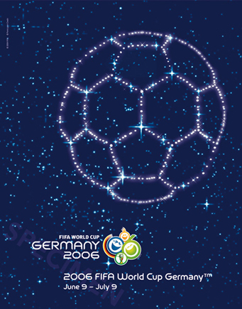 Germany 2006 Official FIFA World Cup Poster