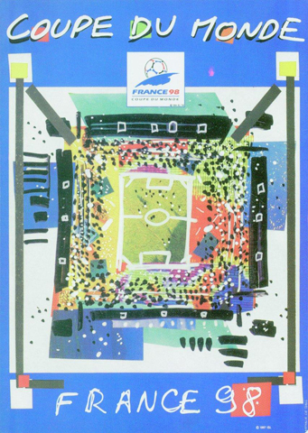 France 1998 Official FIFA World Cup Poster