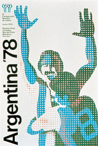 Argentina 1978 Official FIFA World Cup Poster