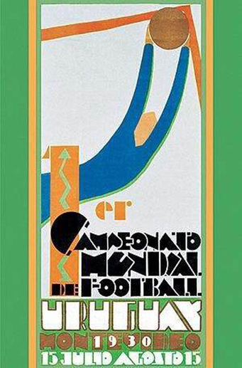 Uruguay 1930 Official FIFA World Cup Poster