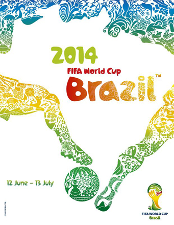 Brazil 2014 Official FIFA World Cup Poster