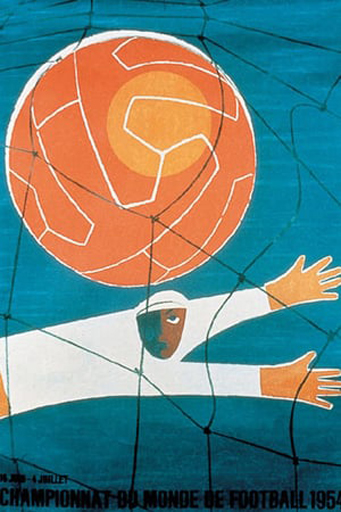 Switzerland 1954 Official FIFA World Cup Poster
