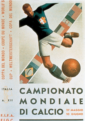 Italy 1934 Official FIFA World Cup Poster