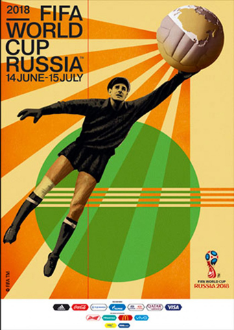 Russia 2018 Official FIFA World Cup Poster