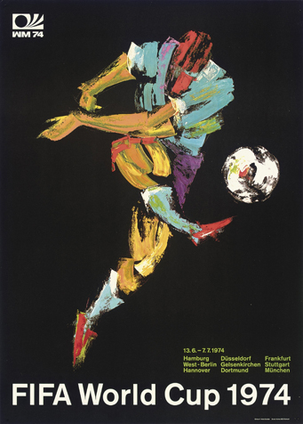 Germany 1974 Official FIFA World Cup Poster