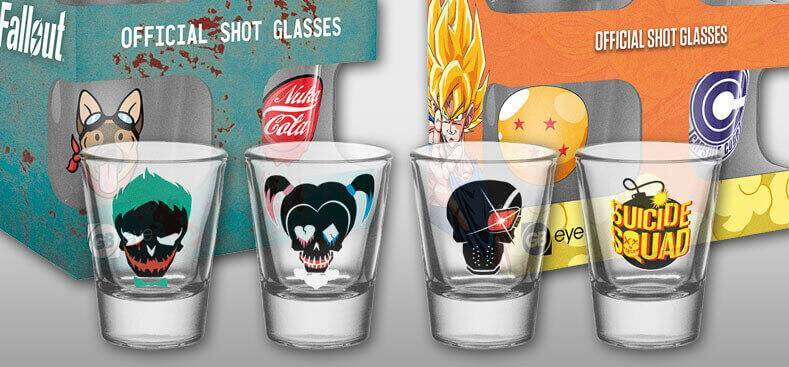 About our Shot Glasses