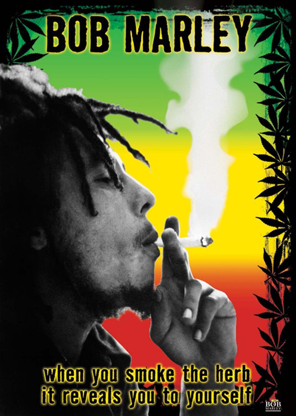 Bob Marley Herb Maxi Poster