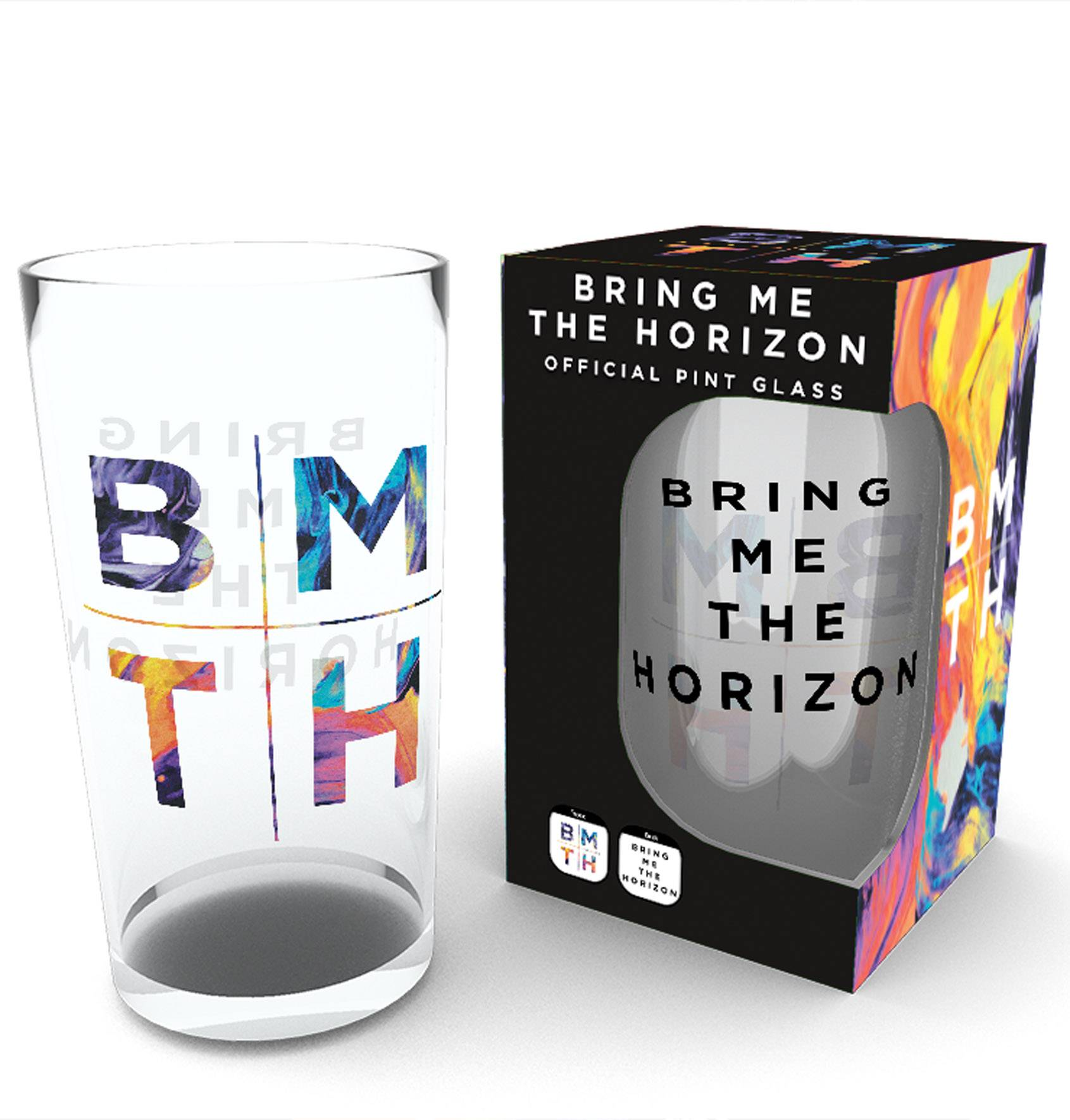 Bring Me The Horizon Logo Pint Glass – Calendar Store