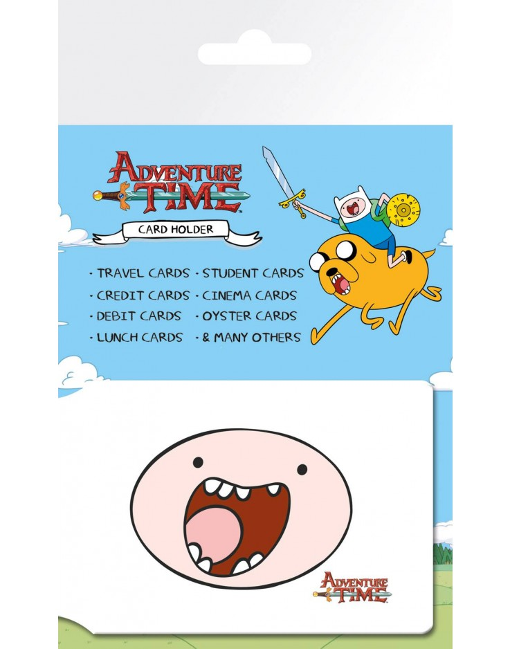 Adventure Time Faces Travel Pass Card Holder