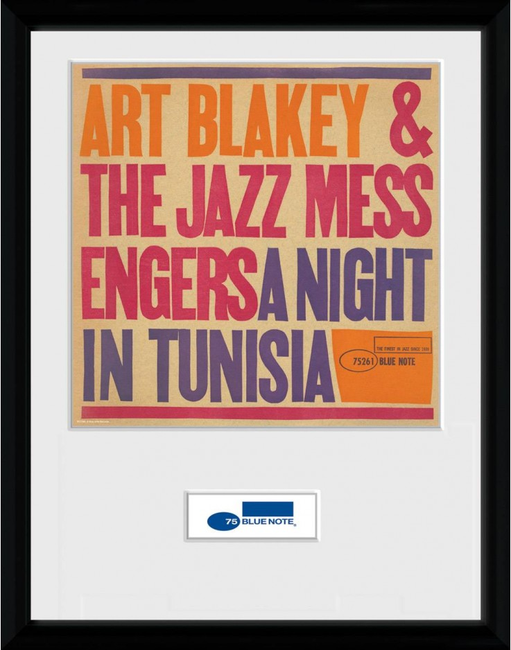 Blue Note Tunisia Framed Collector Print