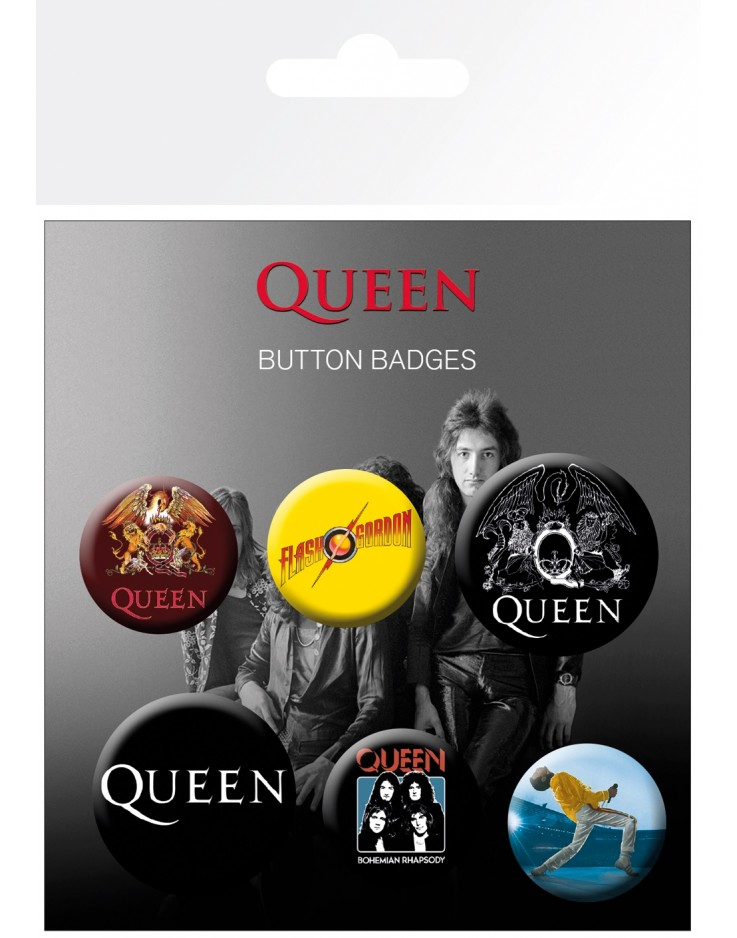 Queen Mix Badge Pack