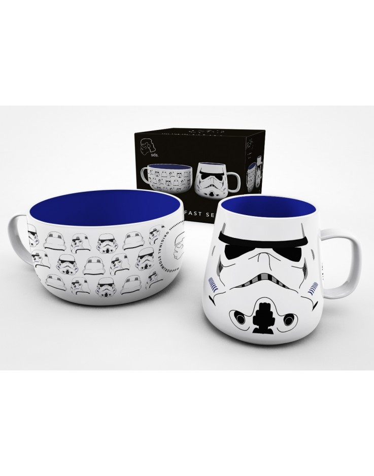 Original Stormtrooper Helmet Breakfast Set