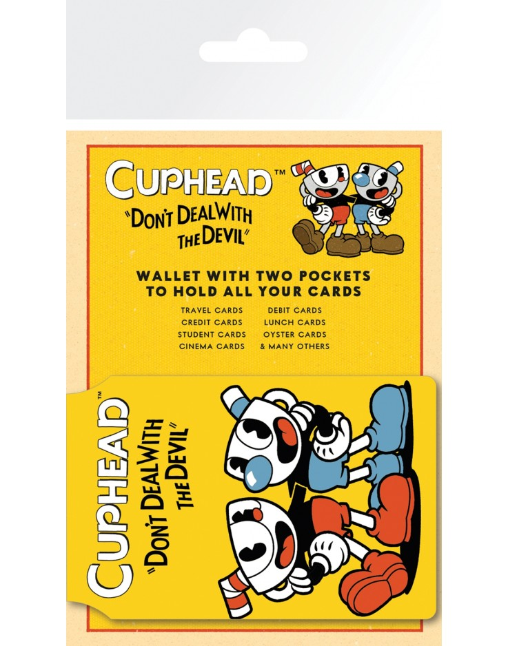 Cuphead Cover Card Holder