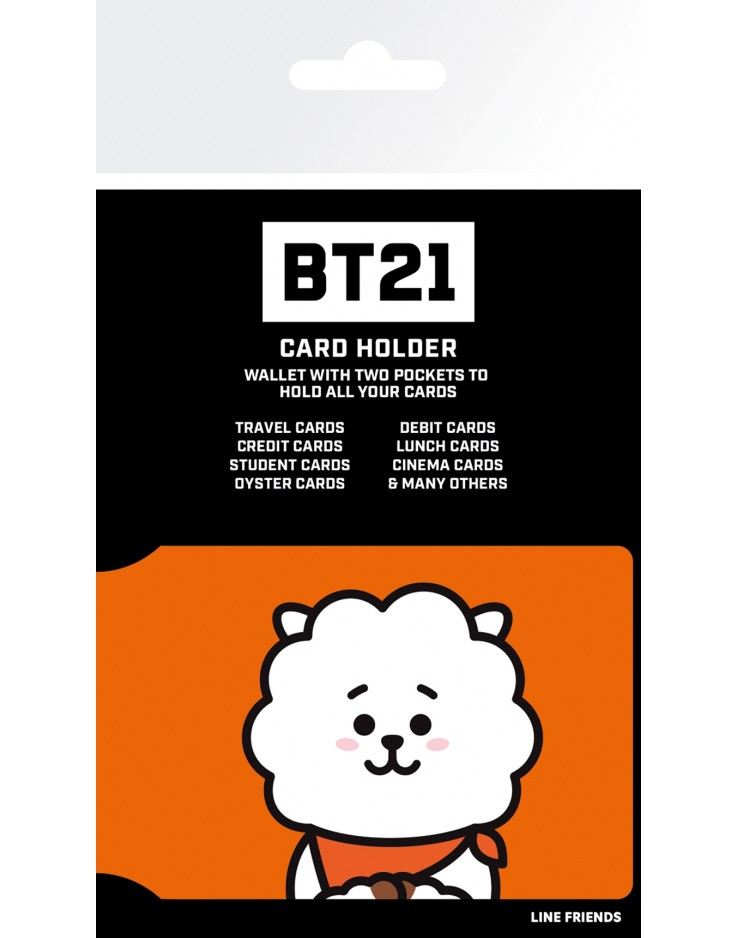 BT21 RJ Card Holder