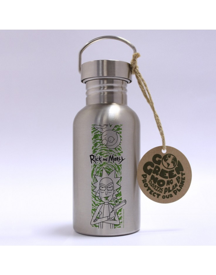 Rick And Morty Portal Eco Bottle