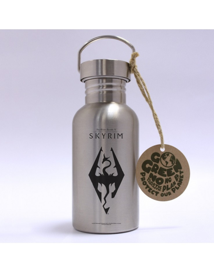 Skyrim Dragon Symbol Eco Bottle