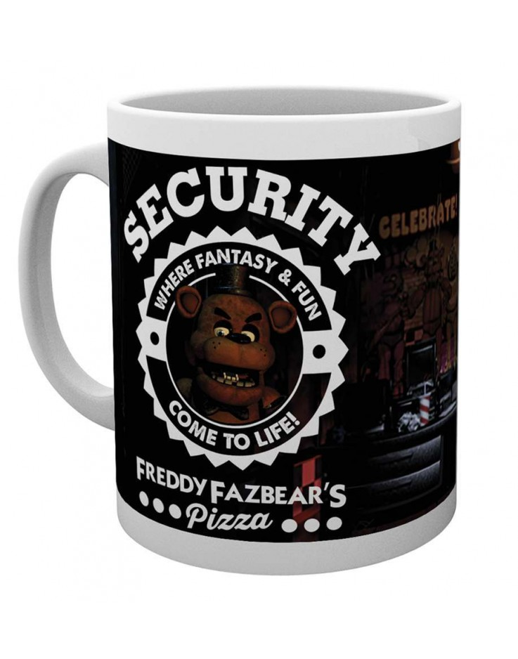 Five Nights At Freddy's Security Mug