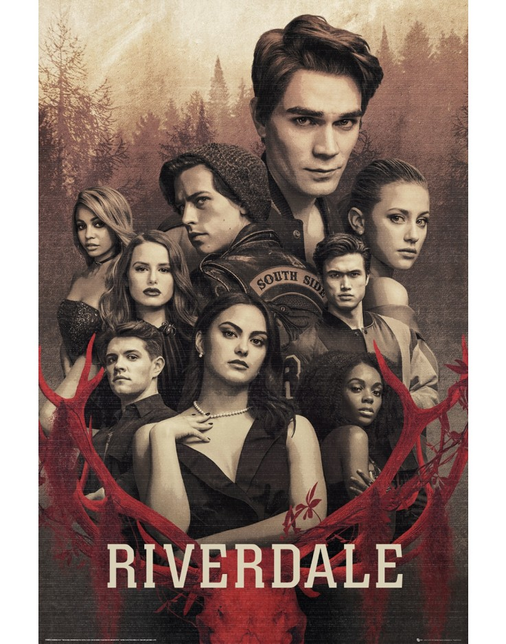 Riverdale Season 3 Key Art Maxi Poster
