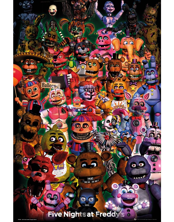 Five Nights at Freddy's Ultimate Group Maxi Poster
