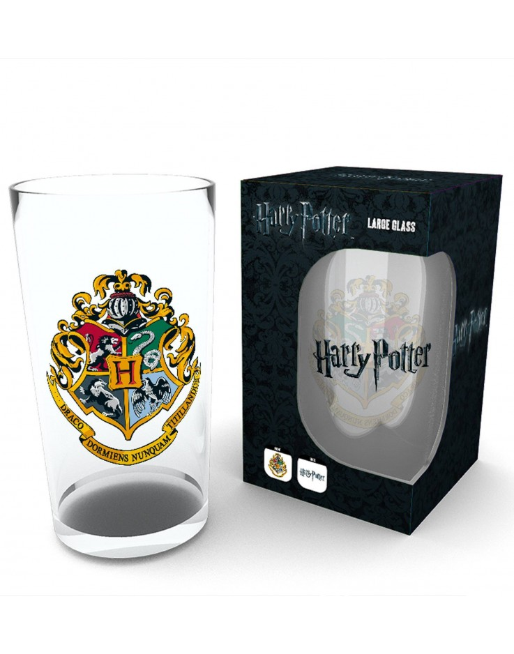 Harry Potter Crest Pint Glass