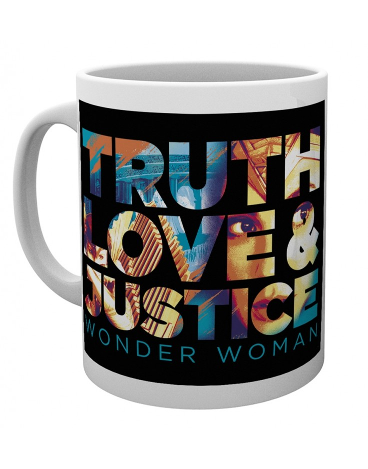 Wonder Woman 84 True, Love & Justice Mug
