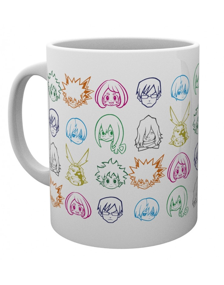 My Hero Academia Icons Mug