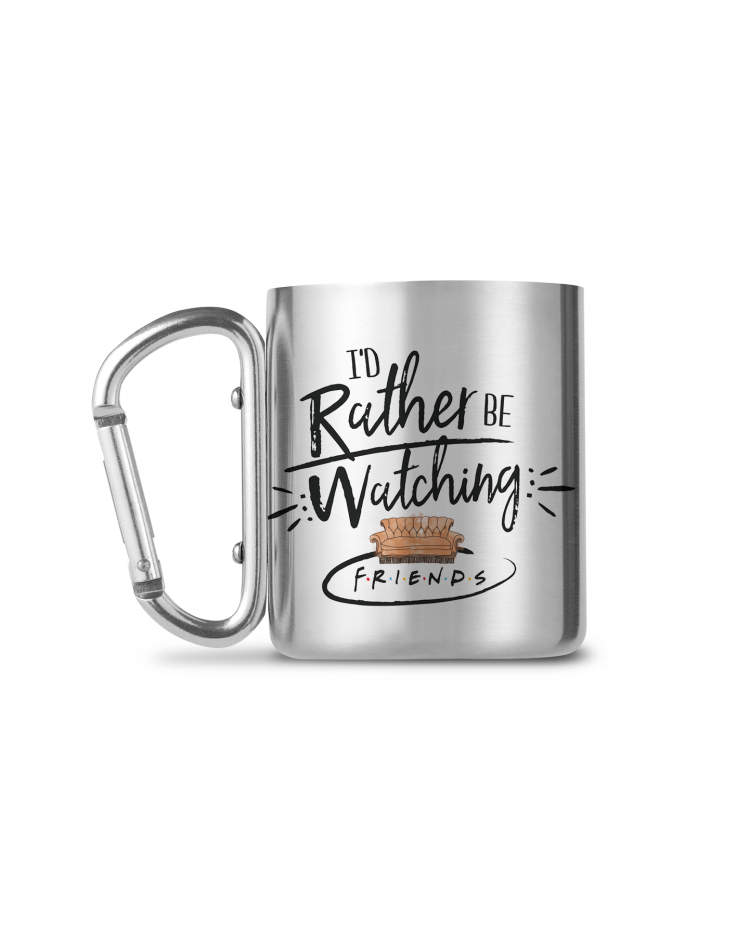 Friends Rather Be Watching Carabiner Mug