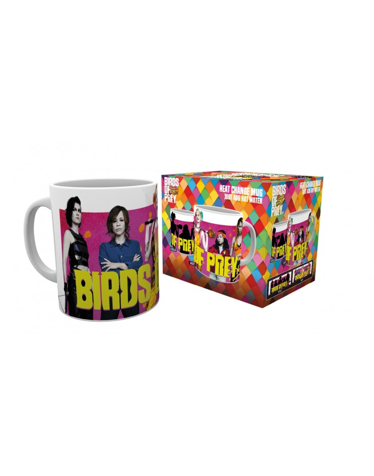 Birds of Prey Group Heat Changing Mug