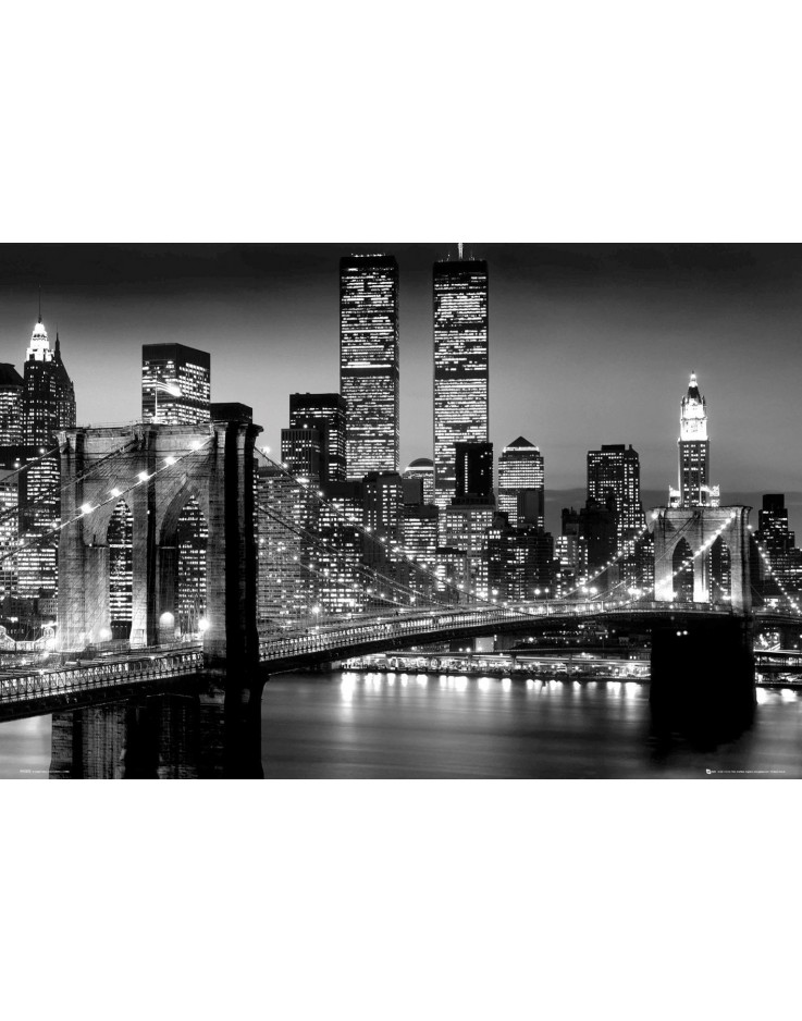 New York Manhattan Black – Berenholtz Maxi Poster