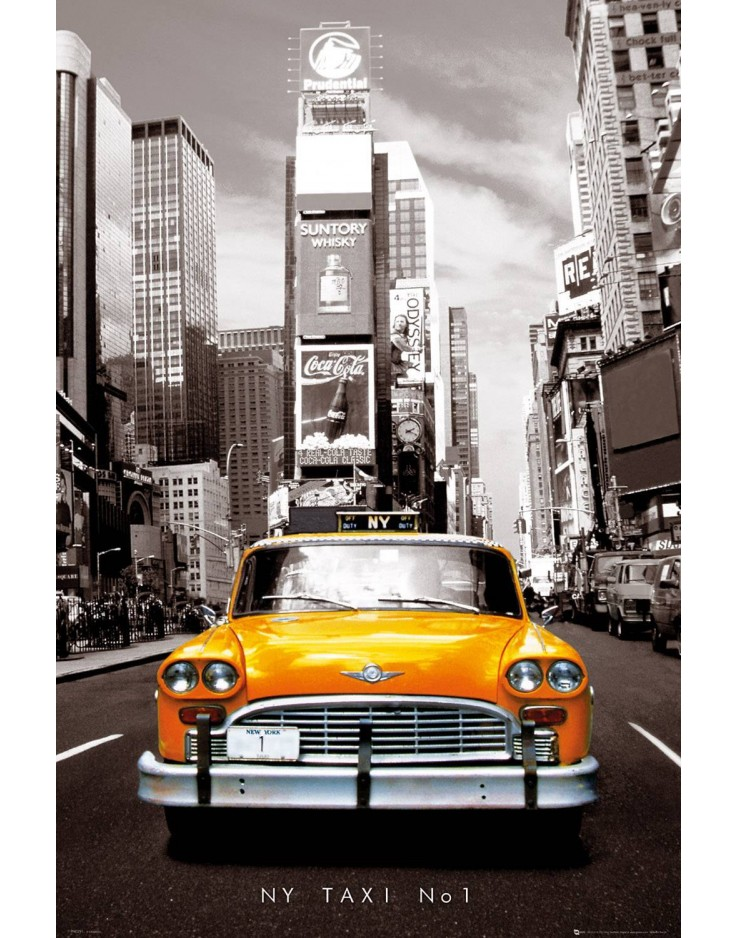 New York Taxi No 1 Maxi Poster