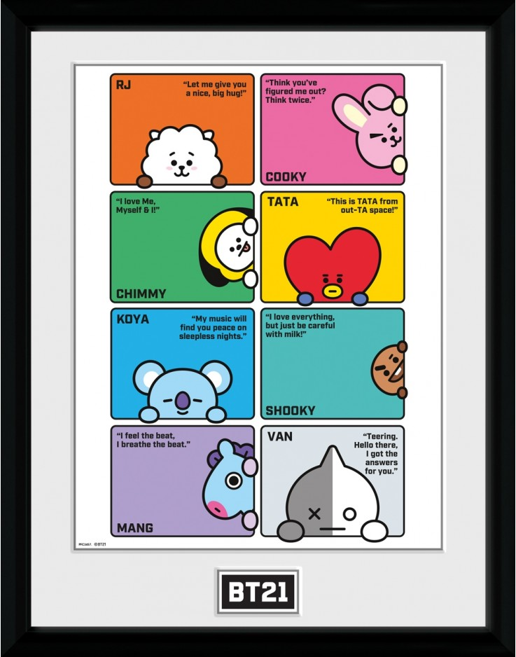 BT21 Compilation Collector Print