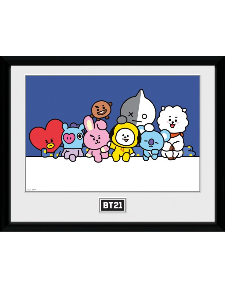 BT21 Group Collector Print