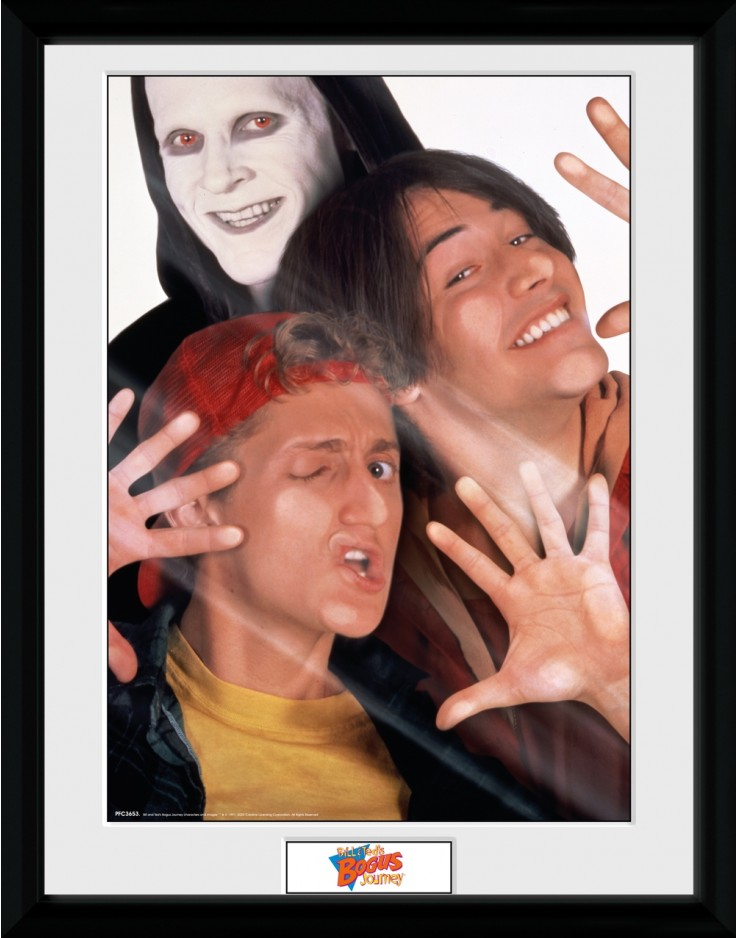 Bill and Ted Bogus Journey Collector Print