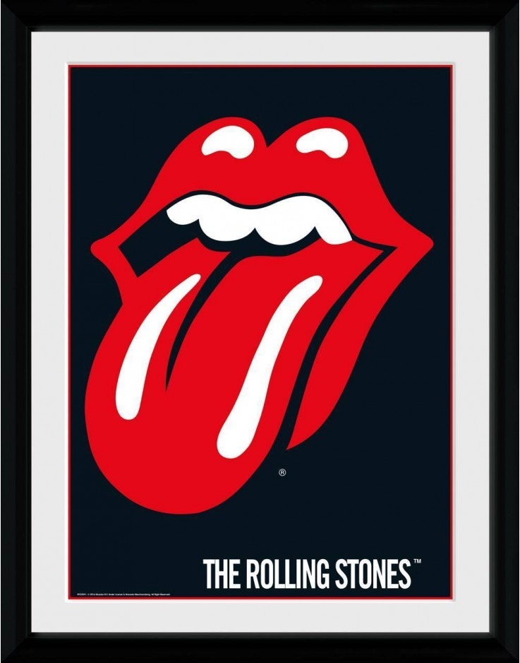 Rolling Stones Lips Collector Print