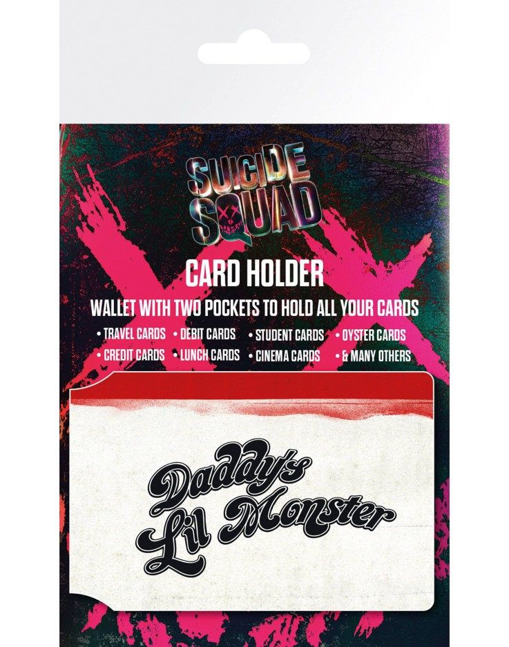 Suicide Squad Lil Monster Card Holder