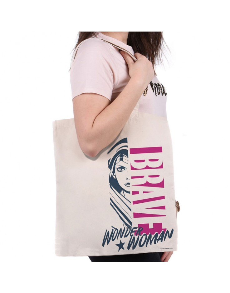 Wonder Woman Brave Tote Bag