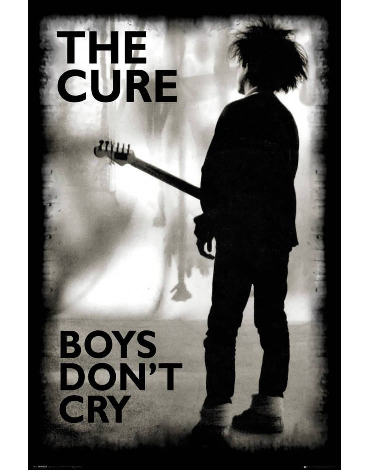 The Cure Boys Don't Cry Maxi Poster