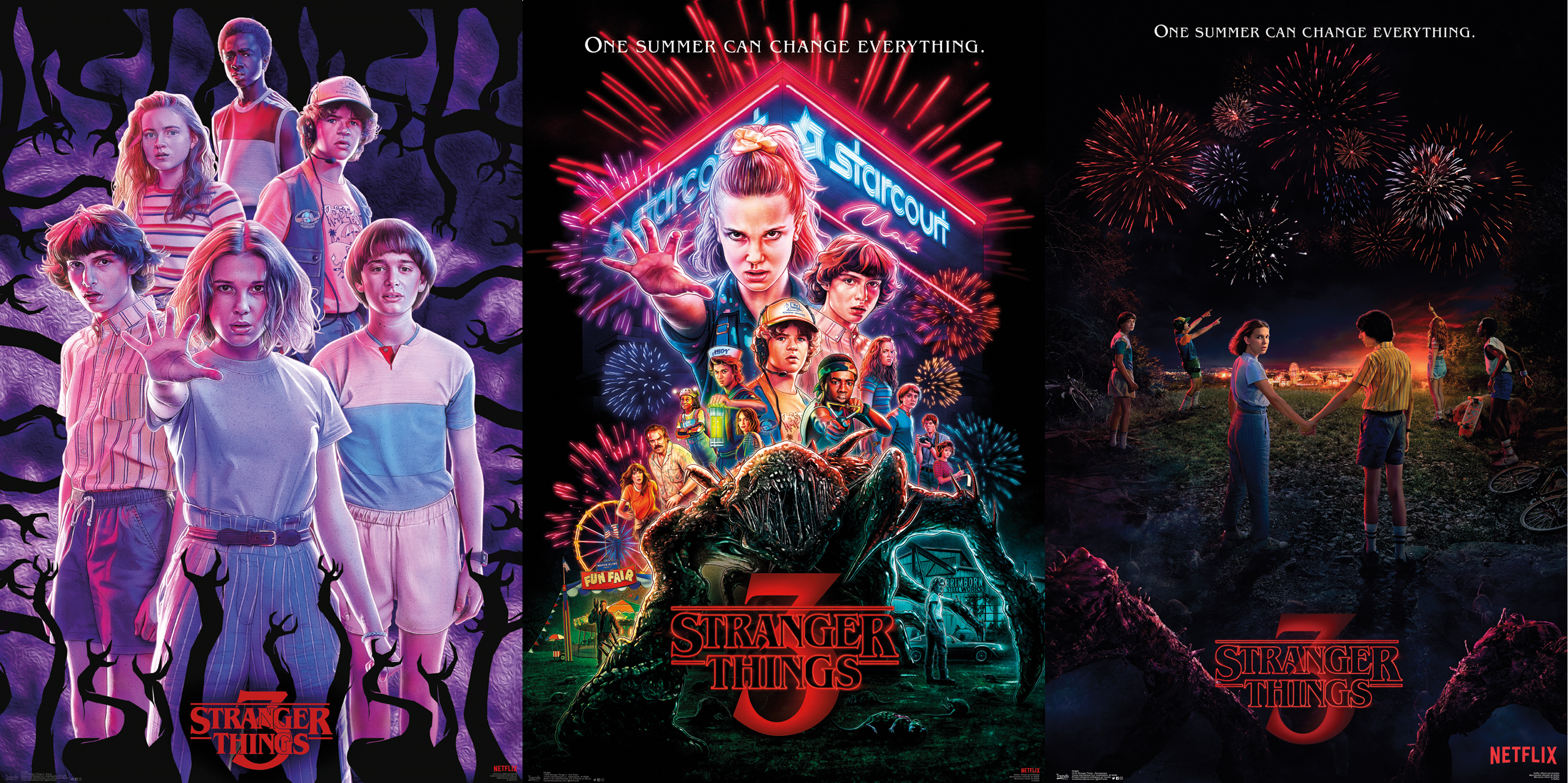 Stranger Things Season 3 Bundle Maxi Poster 7,900,803 likes · 1,552 talking about this. stranger things season 3 bundle maxi poster