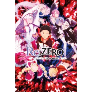 Re:Zero Key Art Maxi Poster