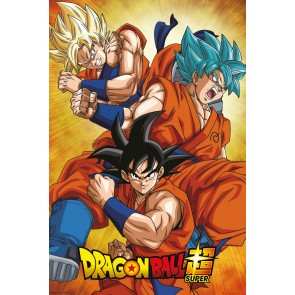 Dragon Ball Super Goku Maxi Poster