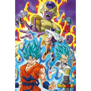 Dragon Ball Super God Super Maxi Poster