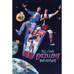 Bill and Ted Excellent Adventure Maxi Poster