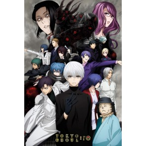 Tokyo Ghoul RE Key Art 3 Maxi Poster