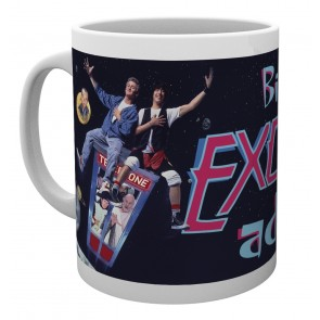 Bill and Ted EA Key Art Mug