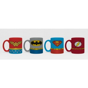 DC Comics Uniforms Espresso Mug Set