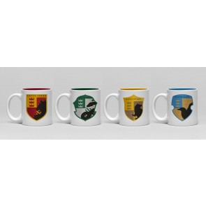 Harry Potter House Pride Espresso Mug Set