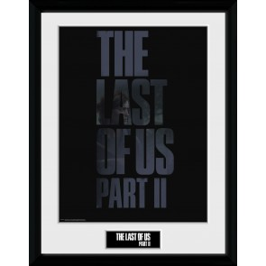 The Last of Us Part II Logo Collector Print