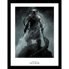 Skyrim Dragon Born Collector Print