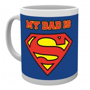 Superman My Dad is Superdad Mug